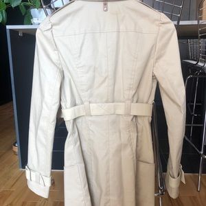 Mackage Coat with Leather Trim